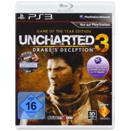 Uncharted 3: Drakes Deception - GOTY Edition