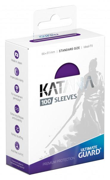 Ultimate Guard Katana Sleeves Standard Purple (100)