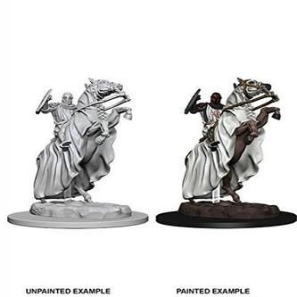 Pathfinder Deep Cuts Unpainted Miniatures: W5 Knight on Horse