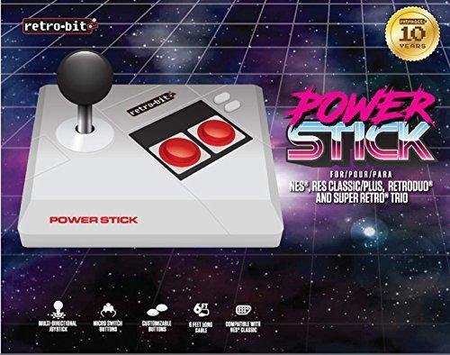 Retro-Bit Power Stick for NES (NES, NEU)