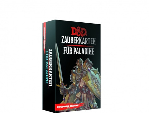 D&D RPG - Zauberkarten: Paladine