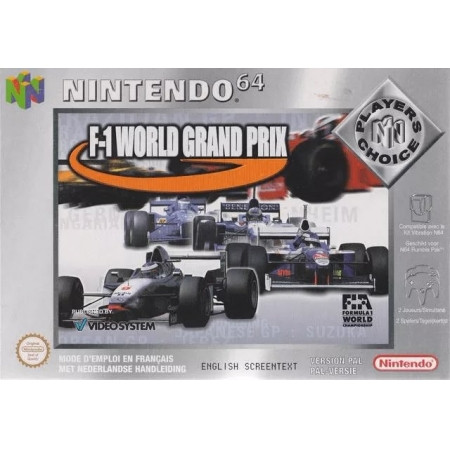 F-1 World Grand Prix - Players Choice CIB