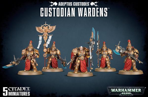 Adeptus Custodes Custodian Wardens (01-11)