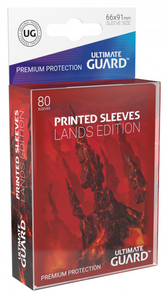 Supreme Sleeves Standard Size Lands Edition Mountain (80)