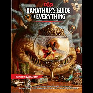 D&D RPG - Xanathars Guide to Everything