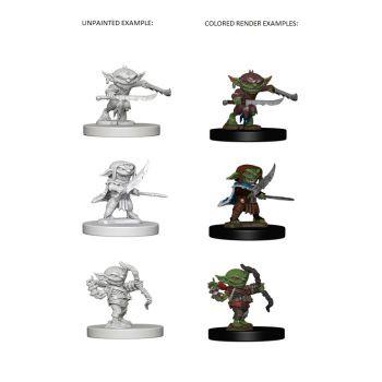 Pathfinder Deep Cuts Unpainted Miniatures: W1 Goblins