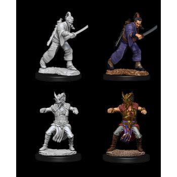 Dungeons & Dragons Nolzur`s Marvelous Unpainted Miniatures: W8 Male Human Monk