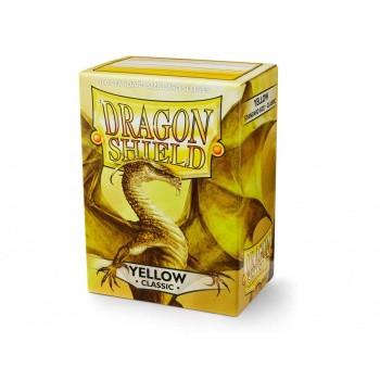 Dragon Shield Card Sleeves Yellow (100)