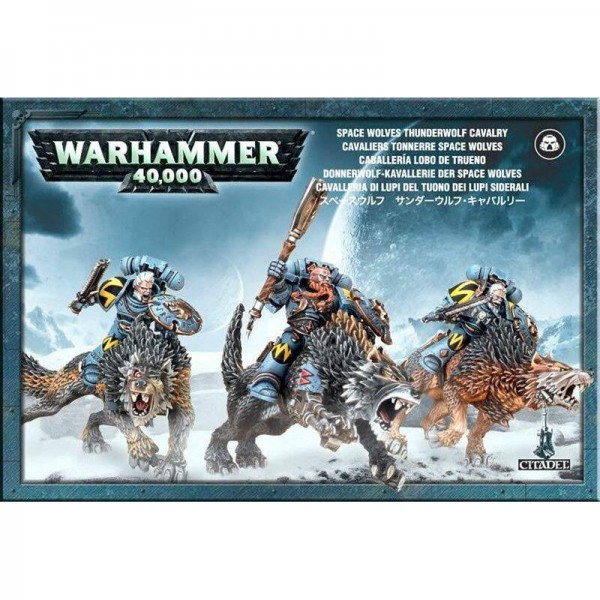 Space Wolves Thunderwolf Cavalry (53-09)