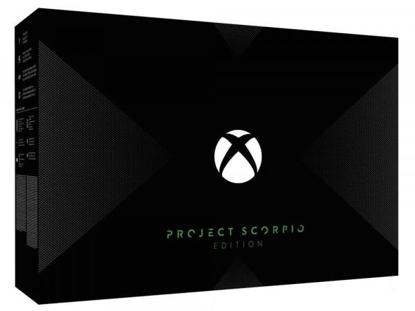 XBOX ONE X Konsole - Project Scorpio Edition (XBOX ONE, gebraucht) **