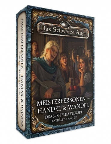 DSA5: Spielkartenset Av. Meisterpersonen Handel & Wandel