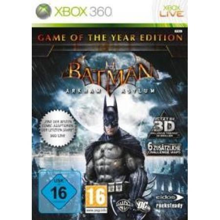 Batman Arkham Asylum (Game of the Year Edition)