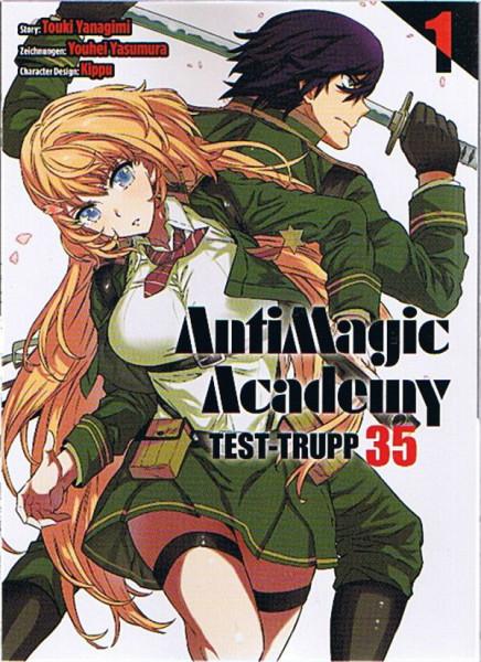 Antimagic Academy Test-Trupp 35 01