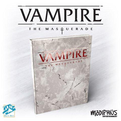 Vampire: The Masquerade 5th Edition Core Rulebook Lim.