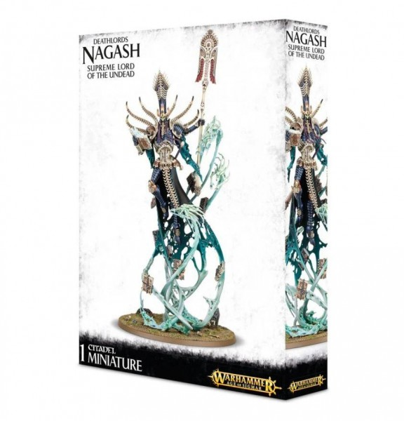 Deathlords Nagash Supreme Lord Of Undead (93-05)