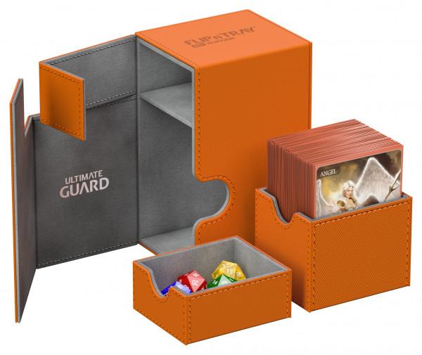 Flip´n´Tray Deck Case 80+ Standard Size XenoSkinTM Orange