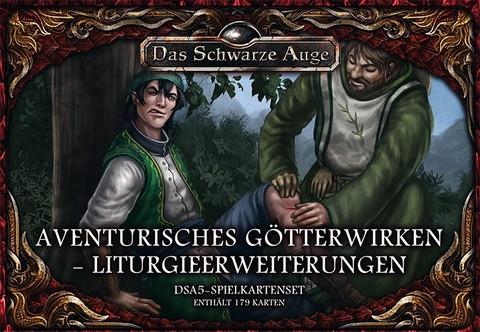 DSA5: Aventurisches Götterwirken: Liturgieerweiterung (Kartenset)
