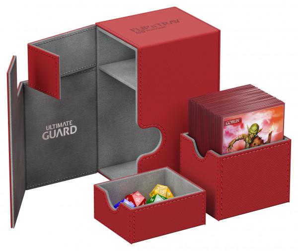 Flip´n´Tray Deck Case 80+ Standard Size XenoSkinTM Red