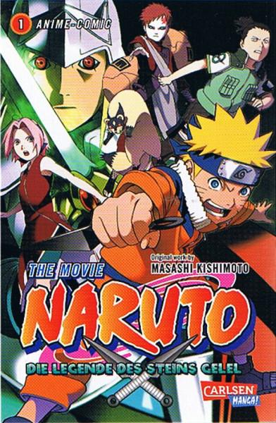 Naruto - The Movie: Die Legende des Steins von Gelel 01