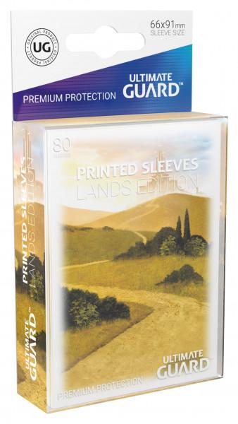 Supreme Sleeves Standard Size Lands Edition Plains (80)