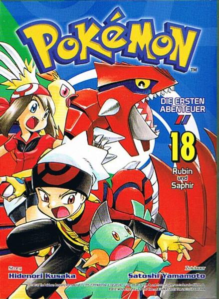 Pokemon – Die ersten Abenteuer Band 18