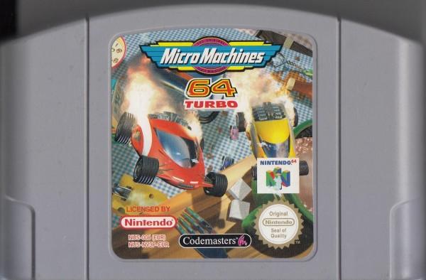 Micro Machines Turbo 64 - MODUL