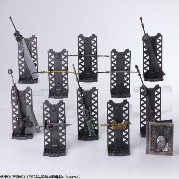 NieR Automata Bring Arts Waffen für Actionfiguren Pack