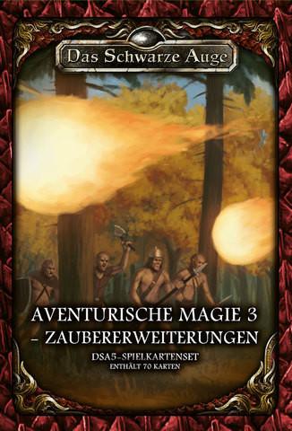 DSA5: Spielkartenset Aventurische Magie 3 Zaubererweiterungen