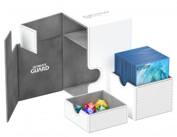 Flip´n´Tray Deck Case 100+ Standard Size XenoSkinTM White