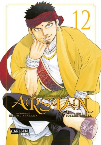 The Heroic Legend of Arslan 12
