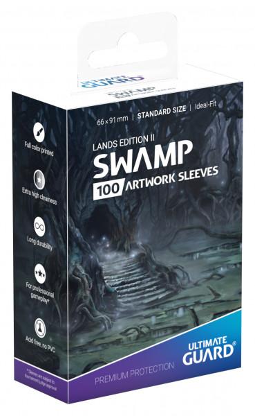 Supreme Sleeves Standard Size Lands Edition Swamp 2 (100)