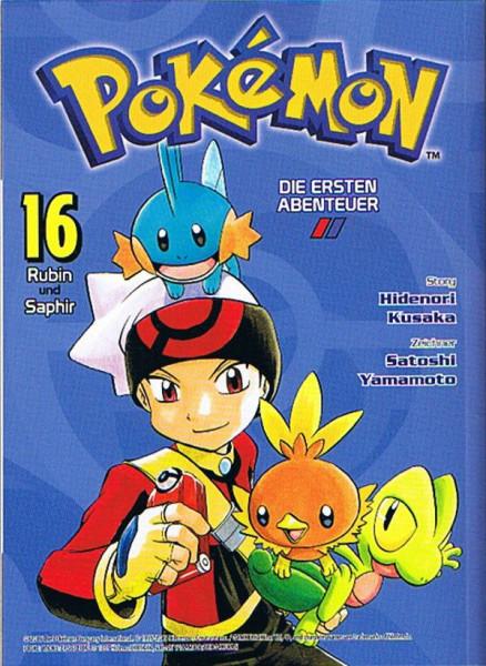 Pokemon – Die ersten Abenteuer Band 16