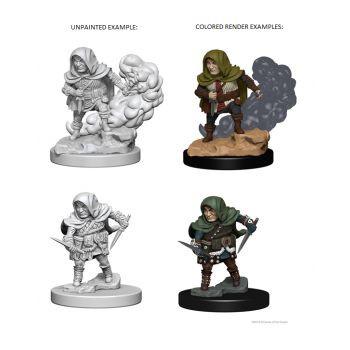 Dungeons & Dragons Nolzur`s Marvelous Unpainted Miniatures: W1 Halfling Male Rogue
