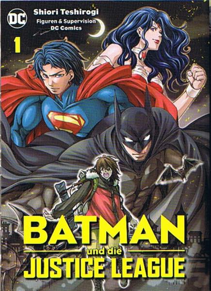 Batman und die Justice League 01