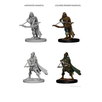 Dungeons & Dragons Nolzur`s Marvelous Unpainted Miniatures: W1 Human Female Ranger
