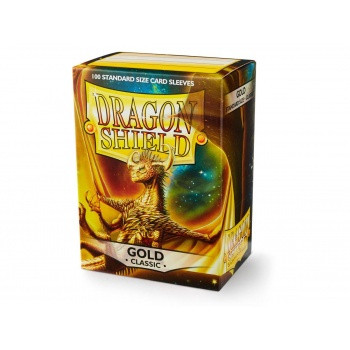 Dragon Shield Card Sleeves Gold (100)