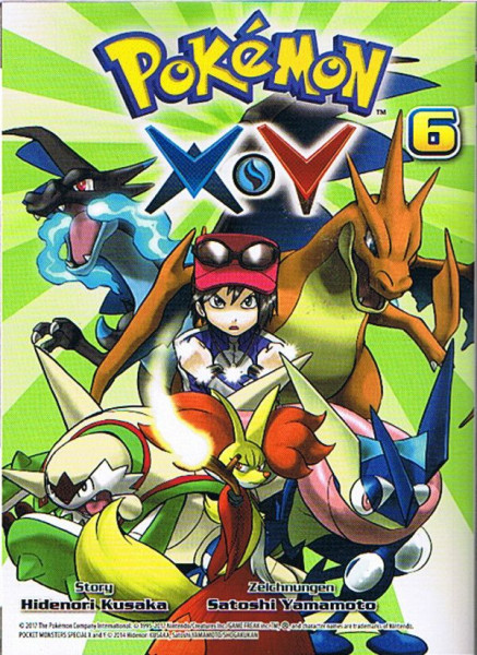Pokemon – X und Y Band 06