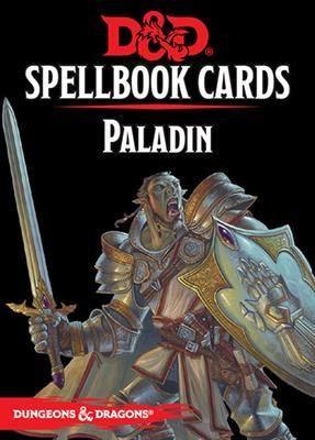 D&D RPG - Spellbook Cards: Paladin Deck