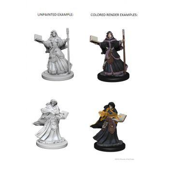 Dungeons & Dragons Nolzur`s Marvelous Unpainted Miniatures: W1 Human Female Wizard