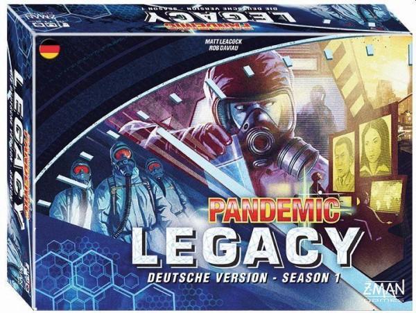 Pandemic - Legacy Blau
