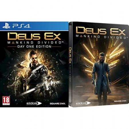 Deus Ex: Mankind Divided - Steelbook Edition