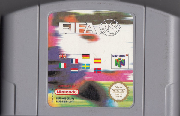 FIFA: Road to World Cup 98 - MODUL **