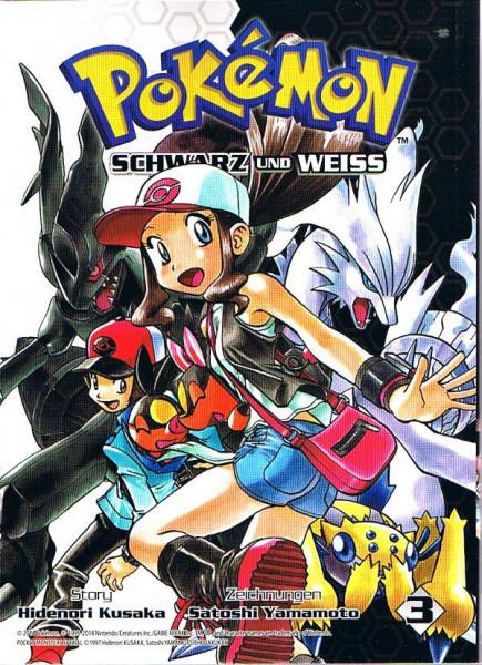 Pokemon – Schwarz und Weiss Band 03