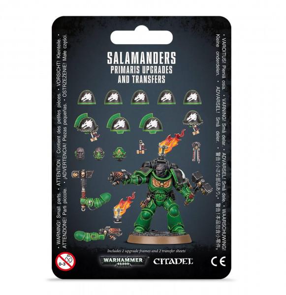 Salamanders Primaris Upgrades & Transfers (55-16)