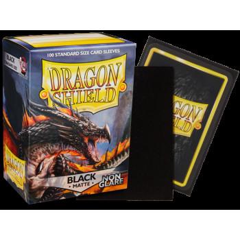 Dragon Shield Card Sleeves - Non Glare -  Matte Black Amina(100)