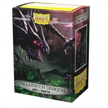 Dragon Shield Matte Art Sleeves - Halloween Dragon 2020 (100 Sleeves)
