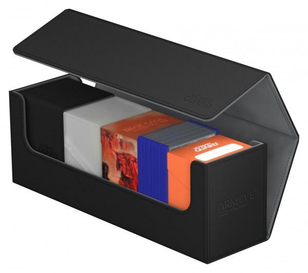 Flip Deck Case 400+ Arkhive Standard Size XenoSkin&trade Black