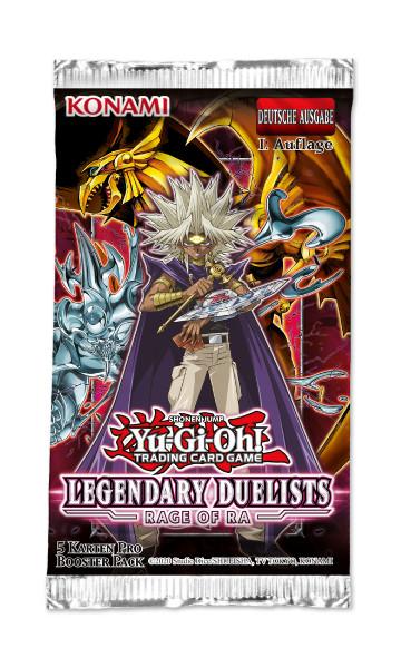 Legendary Duelists 7 Rage of Ra Booster de.