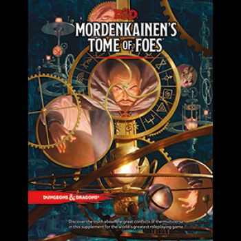 D&D RPG - Mordenkainens Tome of Foes
