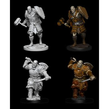 Dungeons & Dragons Nolzur`s Marvelous Miniatures: W7 Male Goliath Fighter